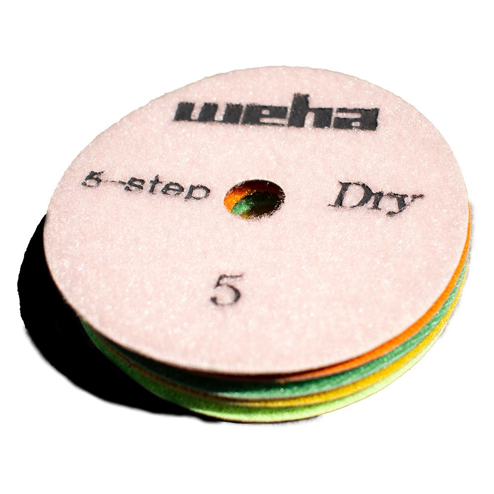 Weha 5 Step Dry Polishing Pads