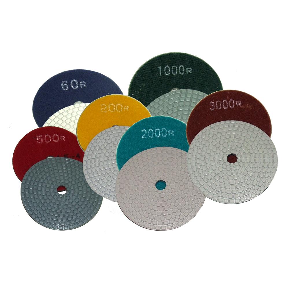 """Alpha Ceramica Dry Polishing Pads 4"""""""