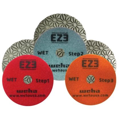 Weha 3-Step EZ3 Wet Polishing Pads