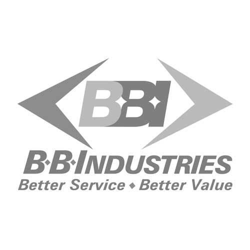 """BB Industries 1/2"""" Gas x 22mm x 8mm Thread Adapter"""