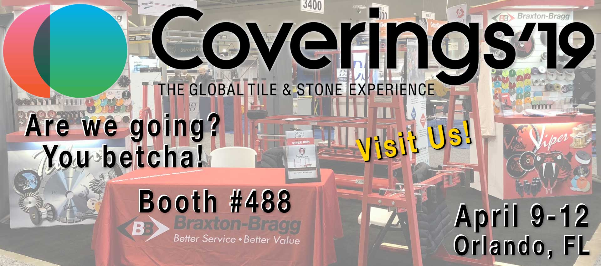 Coverings 2019 - Orlando, FL