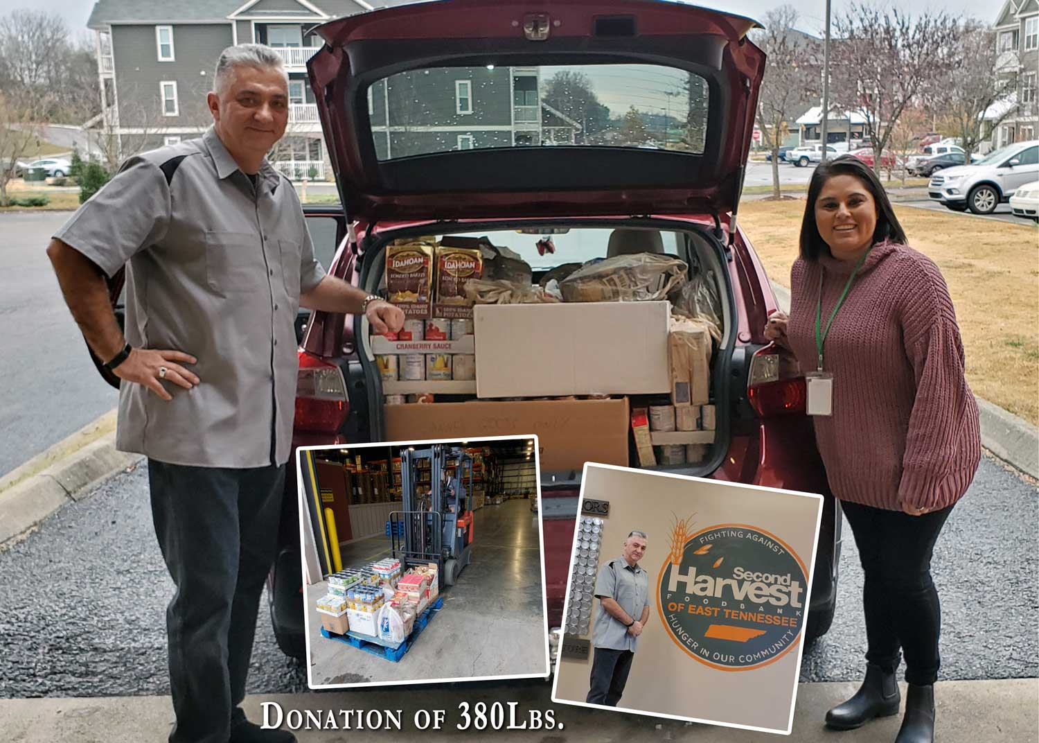 Food Drive For Second Harvest Food Bank