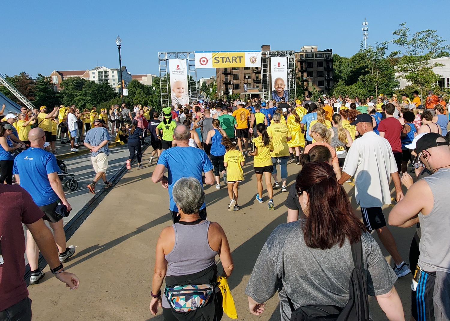 The St. Jude 5K Walk/Run Knoxville