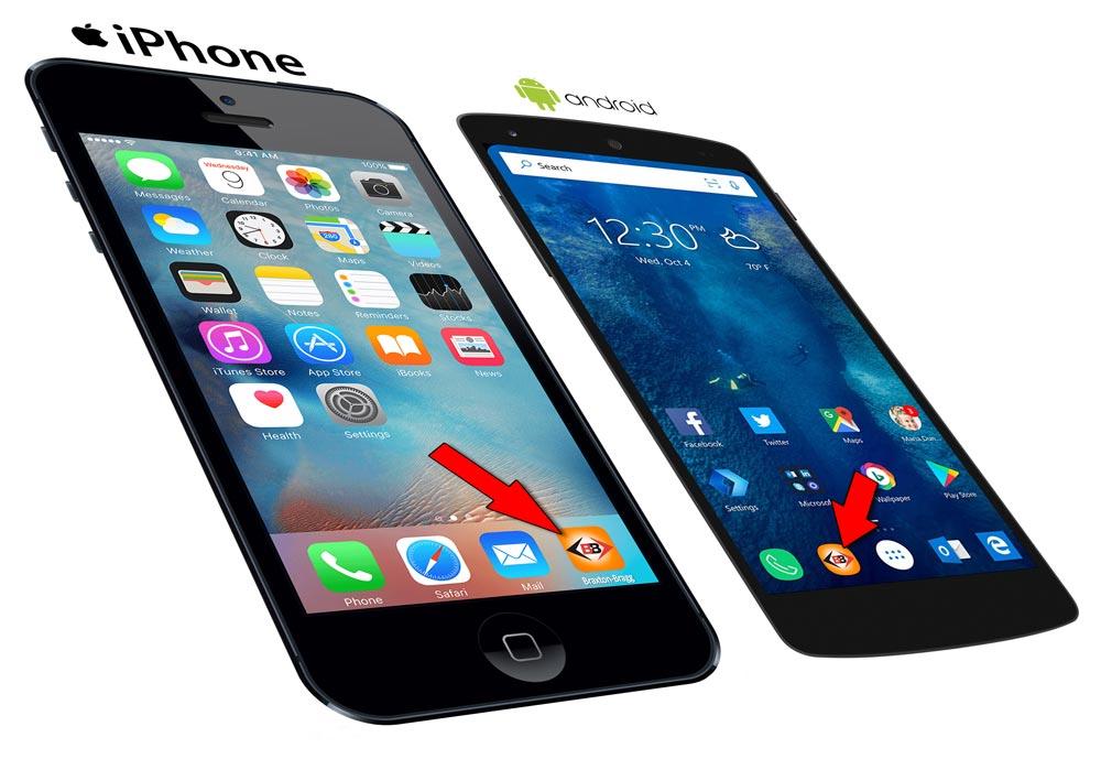 Braxton-Bragg Phone Browser App Icon