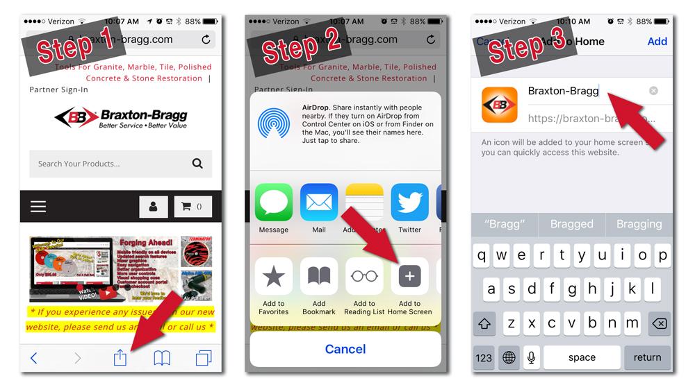 Braxton-Bragg Home Screen Icon On Apple