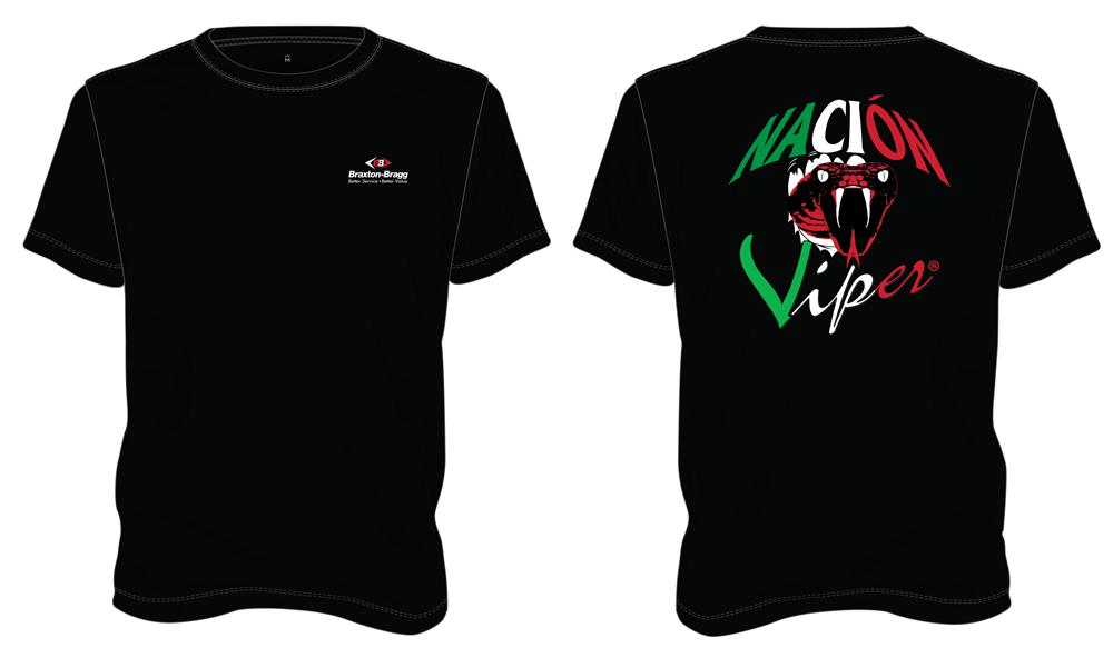 Viper Nation Spanish T-Shirt