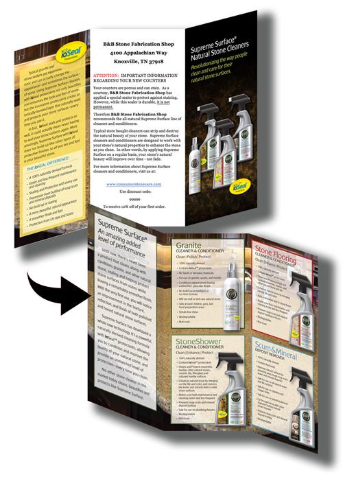 Supreme Surface Stone Care Program Brochure